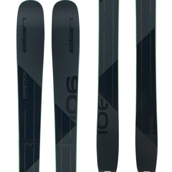 Elan Ripstick 106 Black Edition 2020 + Attack 13