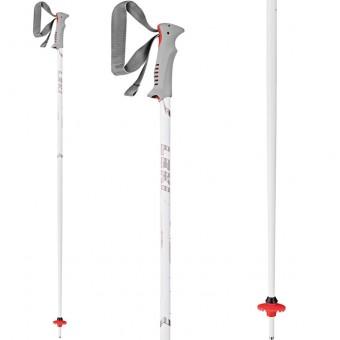 Leki Vista White Ski Poles