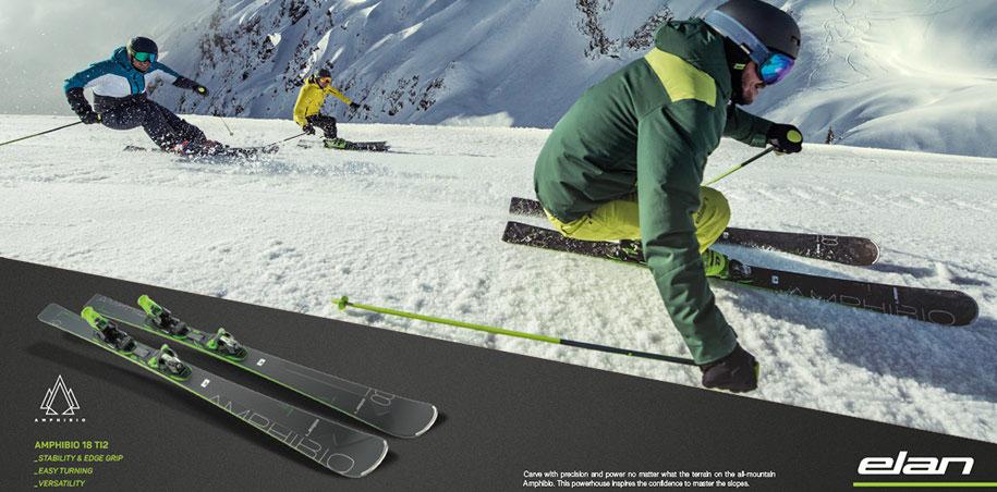 Elan Amphibio 16 Ti2 en Elan Ambpibio 14 Ti beste ski 2017 aan laagste prijs